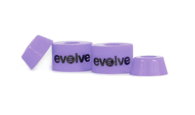 bushing by evolve front view in purple