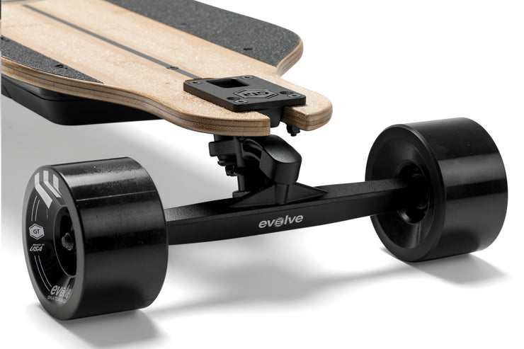 GTR Bamboo Electric Skateboard 2 in 1
