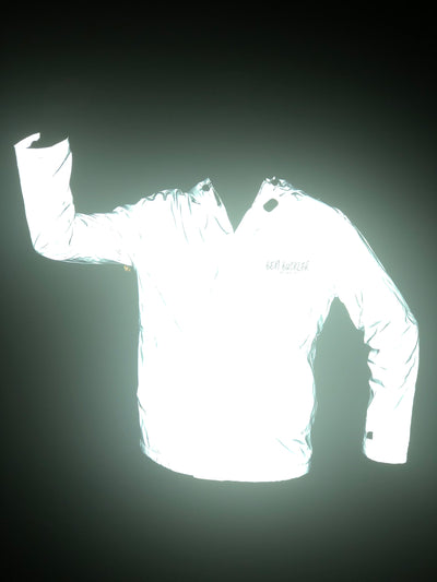 Reflective jacket at night