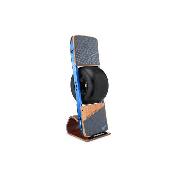 Onewheel XR on a vertical stand
