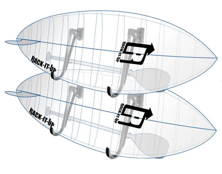 Racks for Storing Paddle Boards