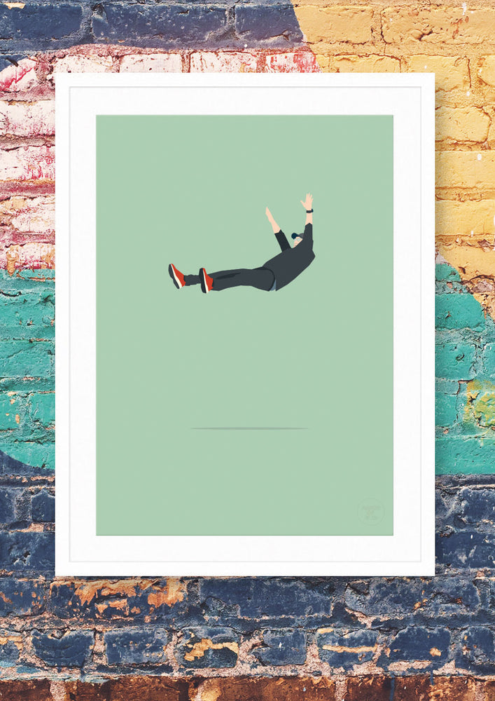 Klopp is in the air – fine art print