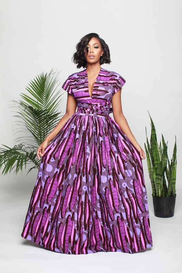 Tammy Infinity dress in Purple