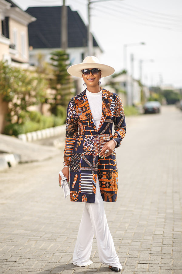Melody African print Jacket