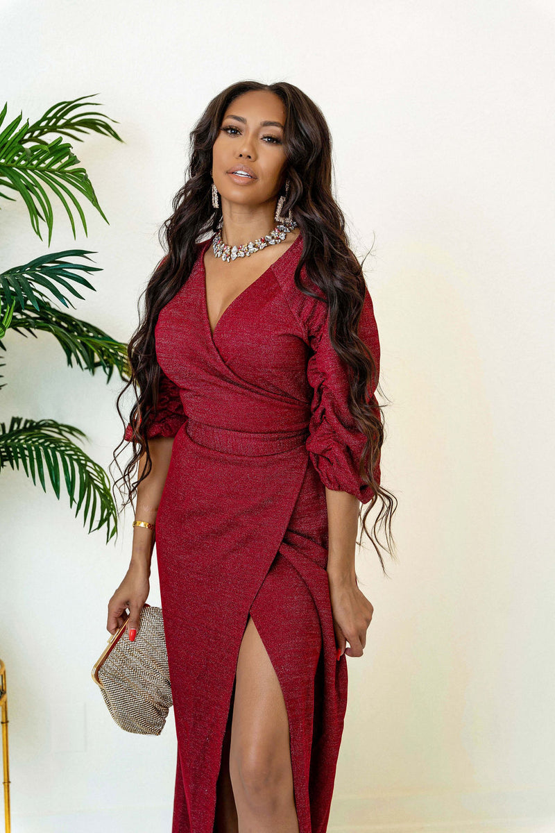 Sherie Wrap Dress