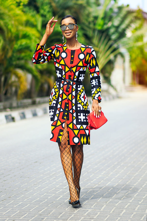 Sila African print Jacket