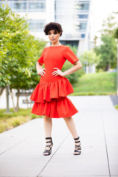 Julia Red  dress