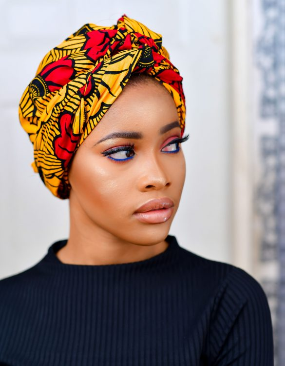 Hibiscus African Print Headwrap