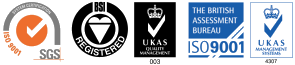 Quality Standards ISO 9001 UKAS