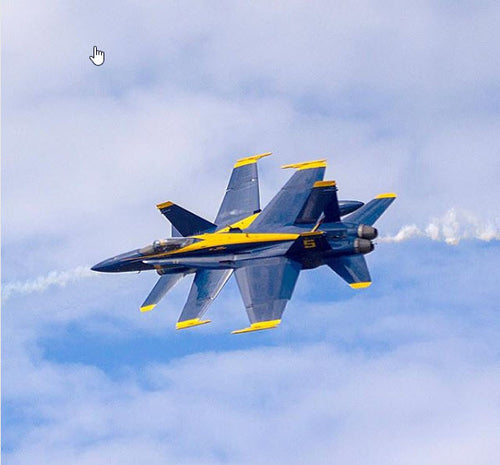 Blue Angels 500 MPH Close Pass