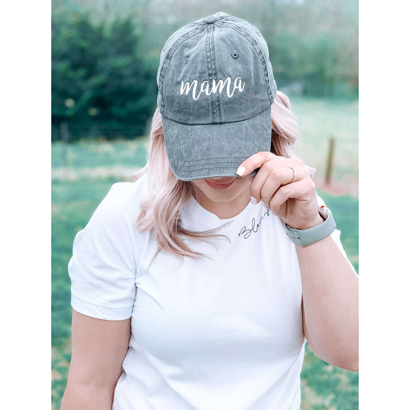 Black Mama Hat:The Rustic Buffalo Boutique