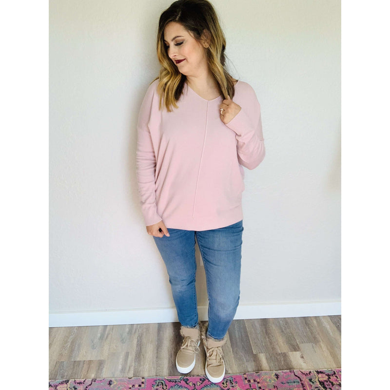 High-Low Sweater Tunic:The Rustic Buffalo Boutique