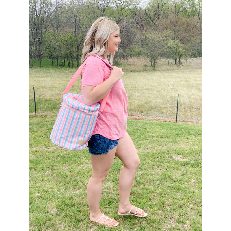 Poolside Soft Cooler:The Rustic Buffalo Boutique