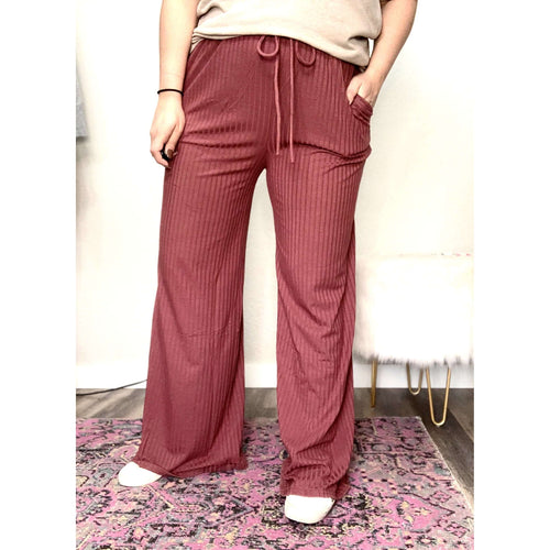 Ribbed Pants:The Rustic Buffalo Boutique