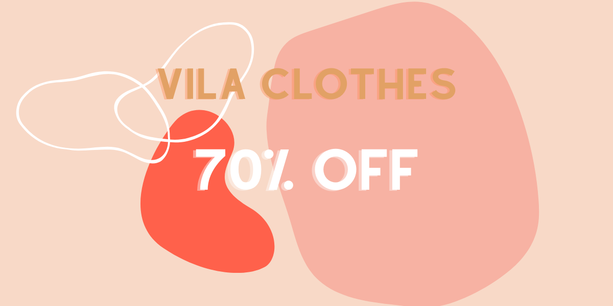 Vila Clothes Sale