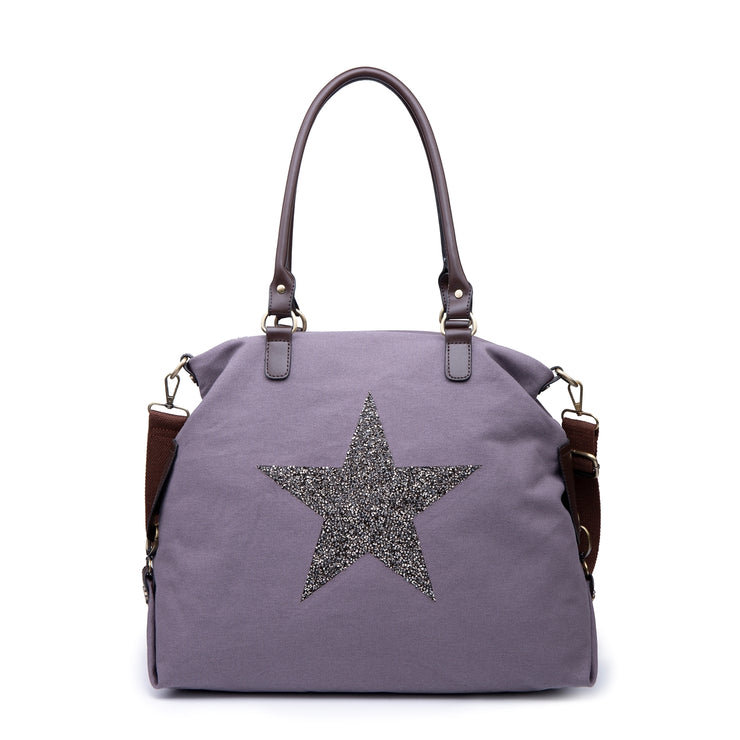 Large Canvas Star Bag