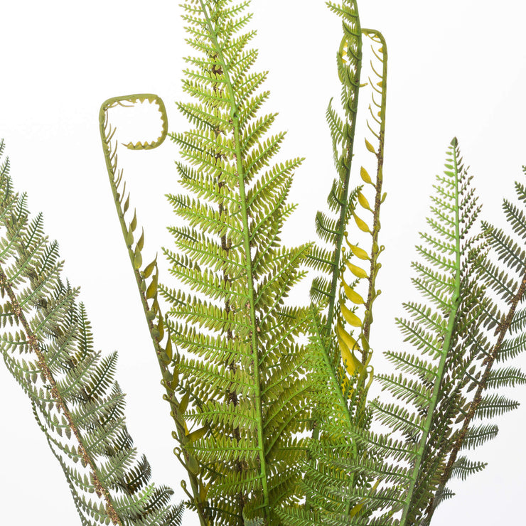 Tall Potted Artificial Fern