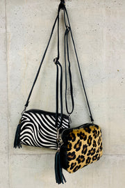 Leather Animal Print Bags