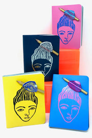 Messy Bun Note Book Ark Design