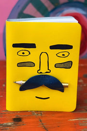 Ark Design Moustache Note Book