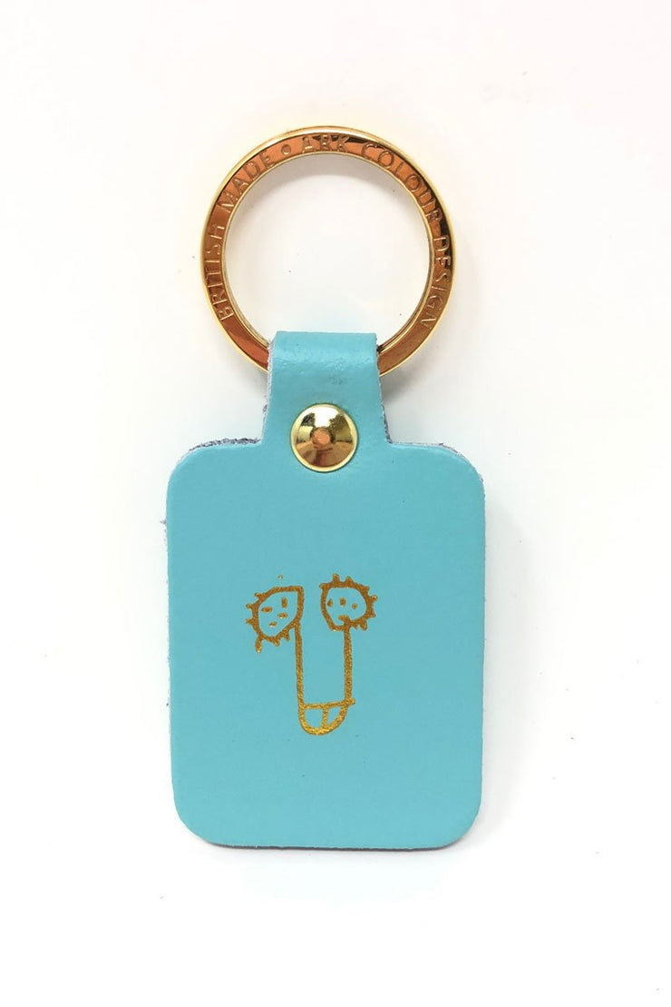 Ark Design Willy Keyring Turquoise