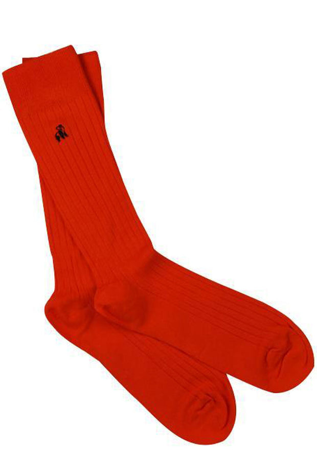 Swole Bamboo Red Socks