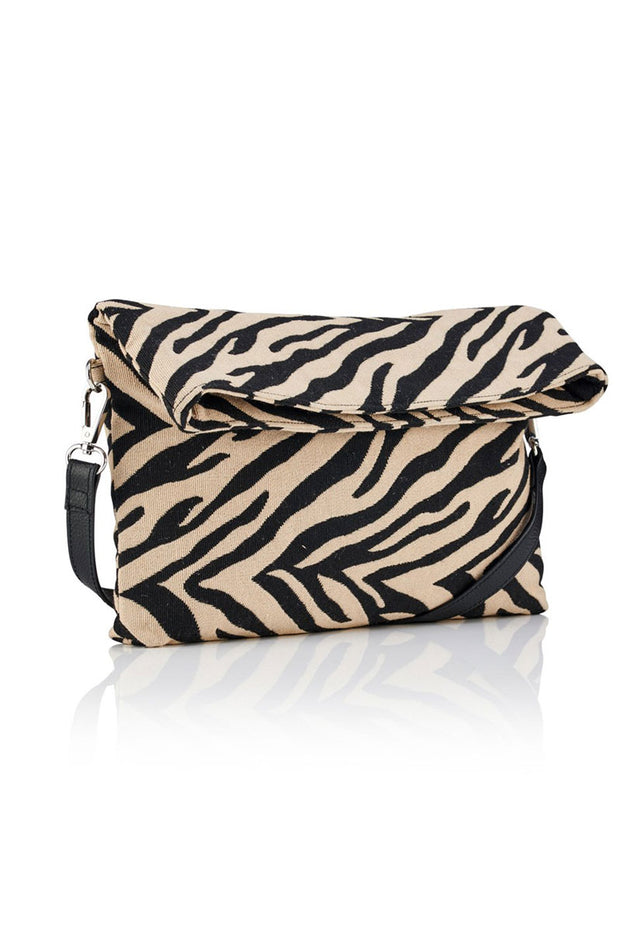 Zebra Cross Body Bag