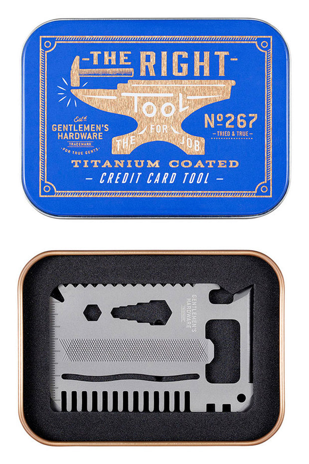 Gentlemens Hardware Credit Card Tool