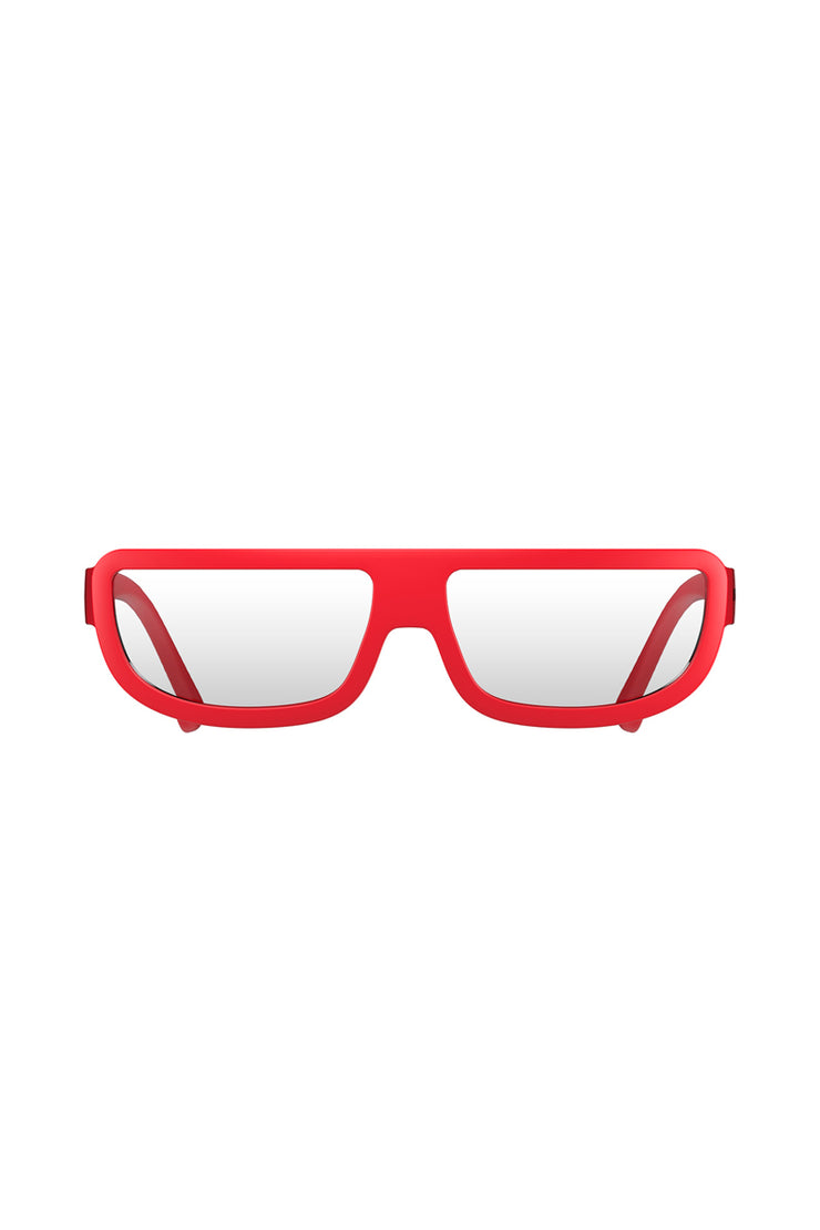 London Mole Red Feisty Reading Glasses