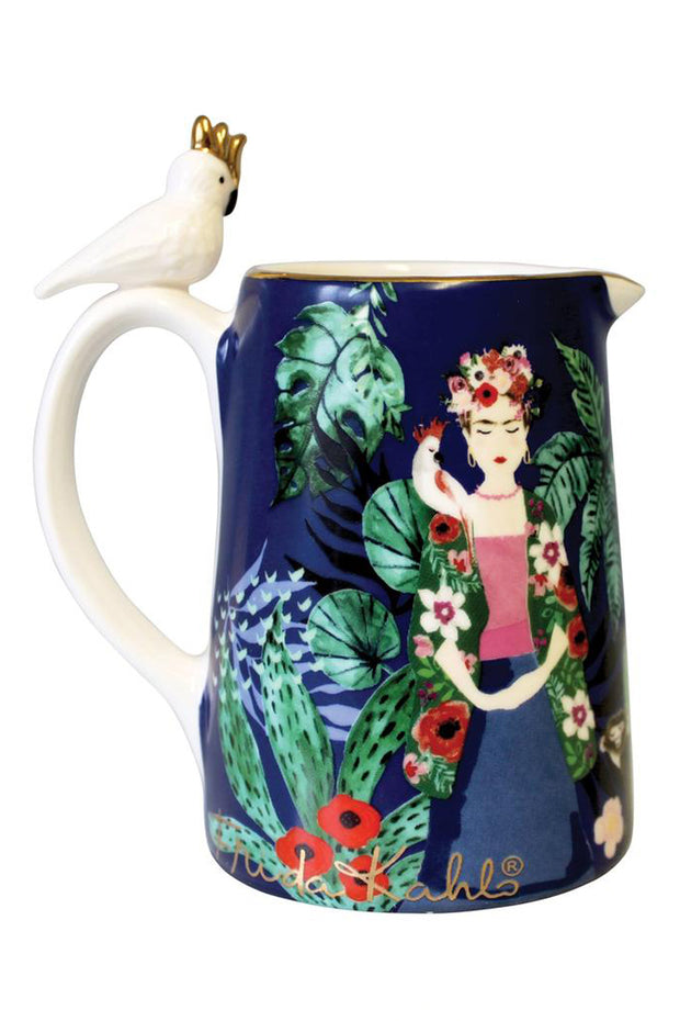 Frida Kahlo Tropical Jug