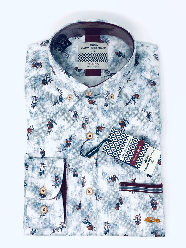 The Winter Floral shirt by Dario Beltran