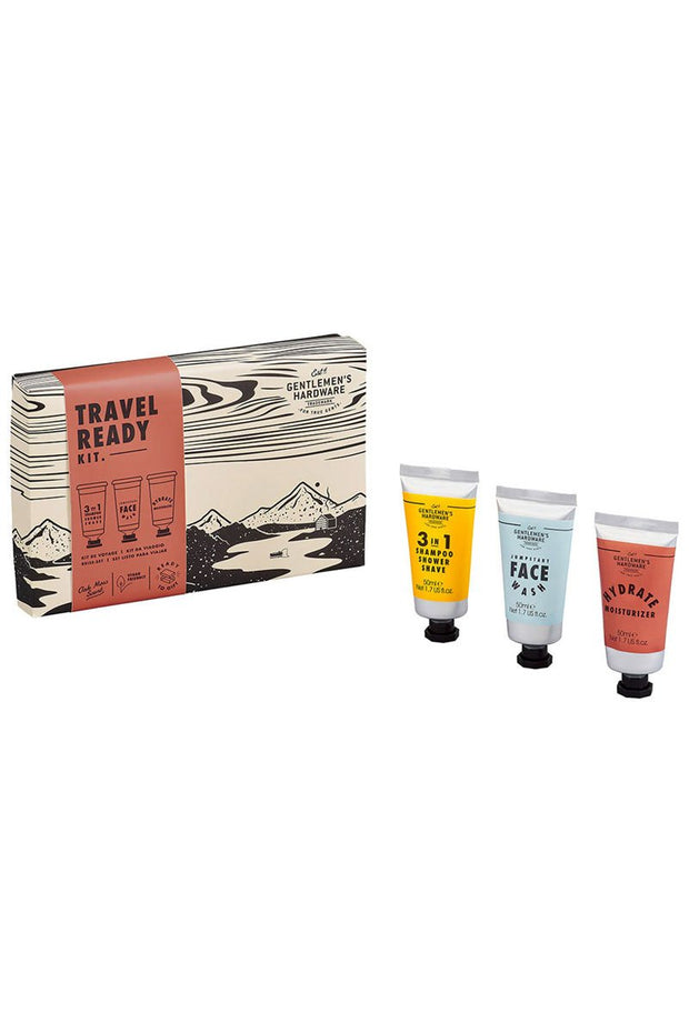 Mens Travel Wash Gift Set