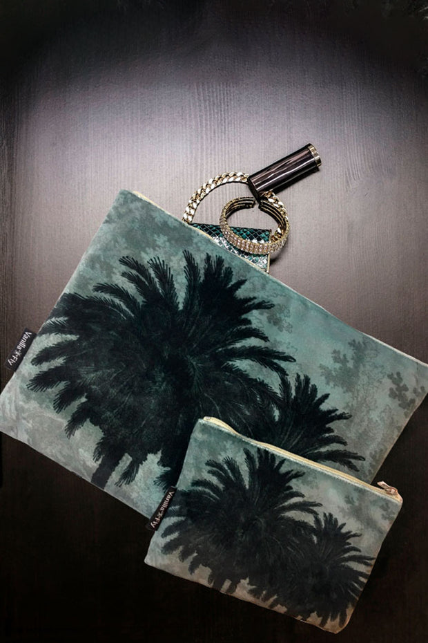 Vanilla Fly Palm Pouches