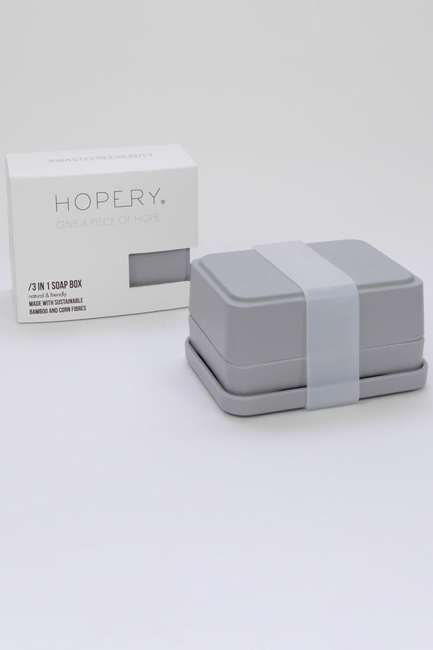 Hopery Soap Dish Grey