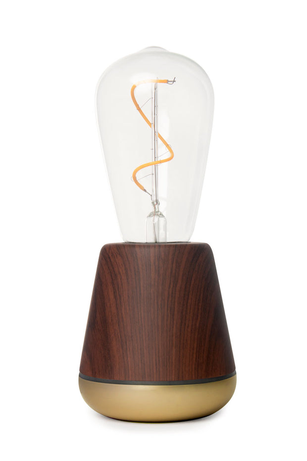 Humble One Walnut Cordless Lamp