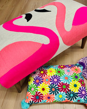 Bombay Duck Flamingo Bench