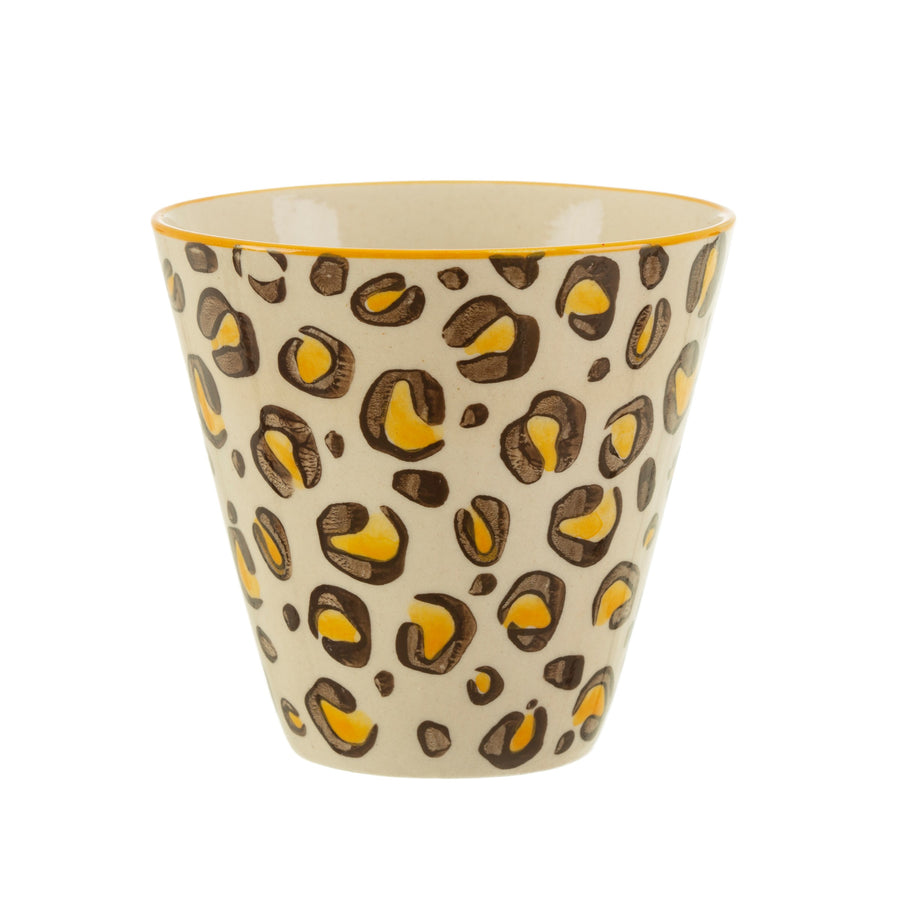 Mini Leopard Love Planter