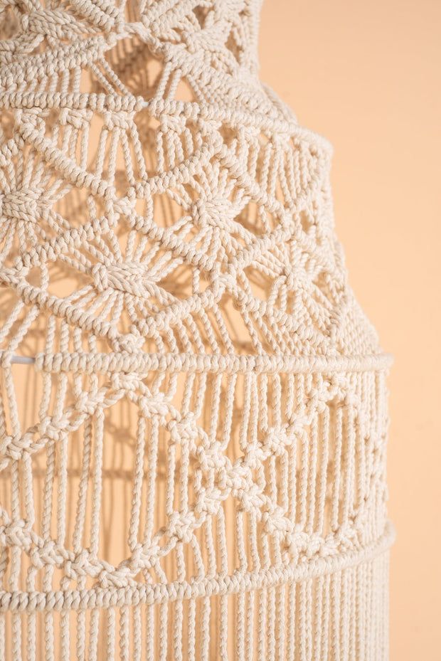 Ian Snow Tiered Macrame Lampshade