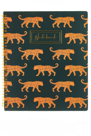 Leopard Notepad A4
