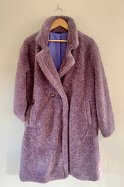 Lilac Teddy Coat