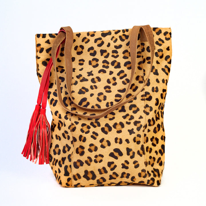 Luxe Leather Leopard Bag