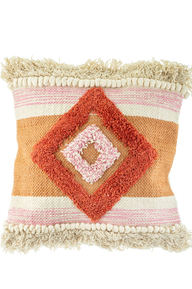 Scandi Tufted Cushion