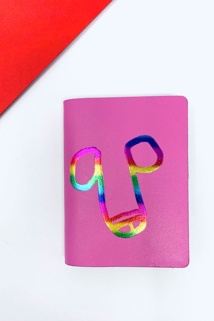 Pink Willy Notebook Ark Colour Design