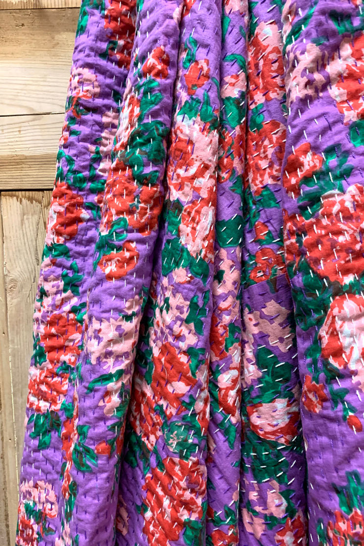 Patchouli Fair Kantha Quilt