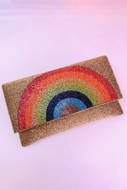 Beaded Rainbow Bag
