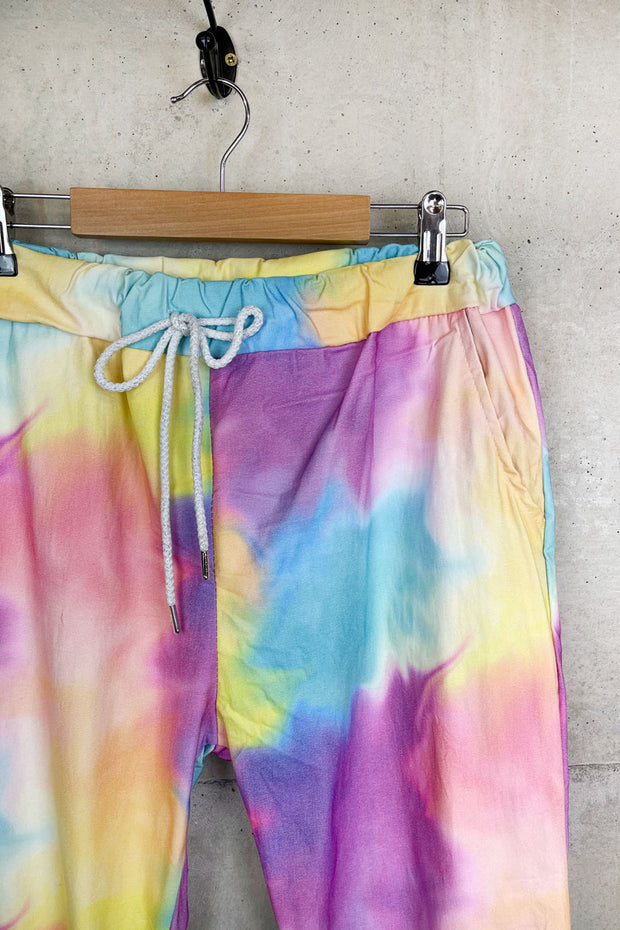 Rainbow Tie Dye Trousers