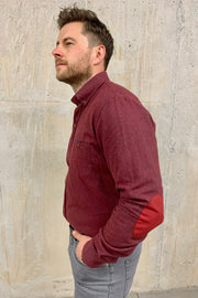 Brushed Cotton Red Shirt