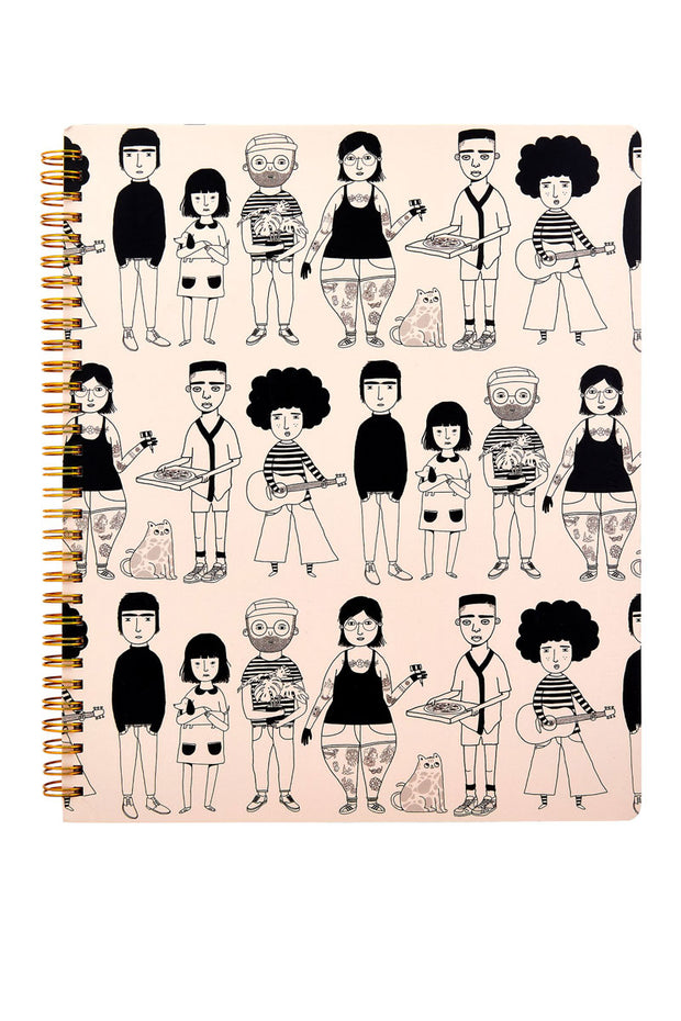 Sass and Belle My Kind of People Notepad