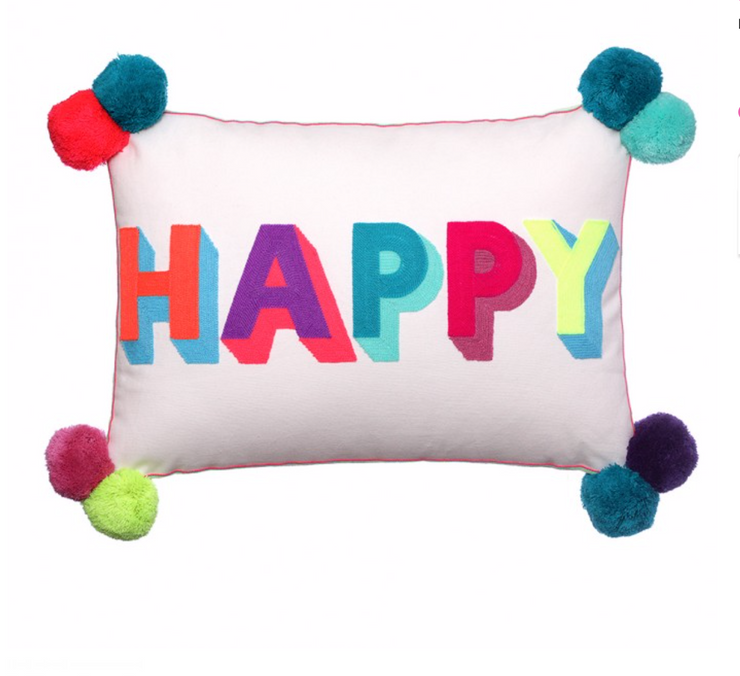 Bombay Duck Happy cushion