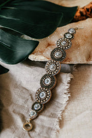 My Doris Silver Beaded Bracelet